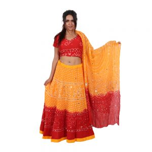 Mirrior Work Lehenga Choli