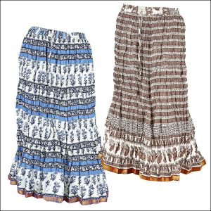 LONG COTTON SKIRTS