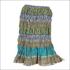 Block Print Sanganeri Skirts