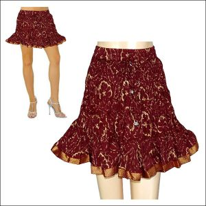 BANDHEJ SHORT SKIRTS