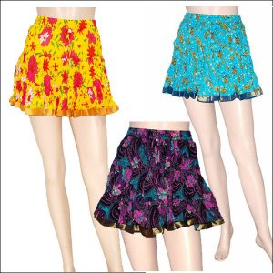 COTTON MINI SKIRTS