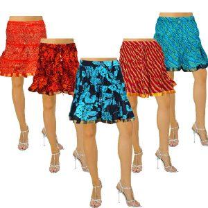 Hand Sanganeri Mini Skirt