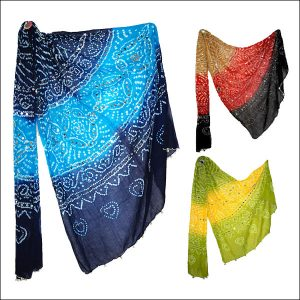 Hand Printed Cotton Dupatta