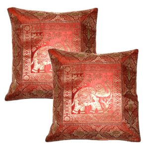 DESIGNER JACQUARD CUSHION CASE