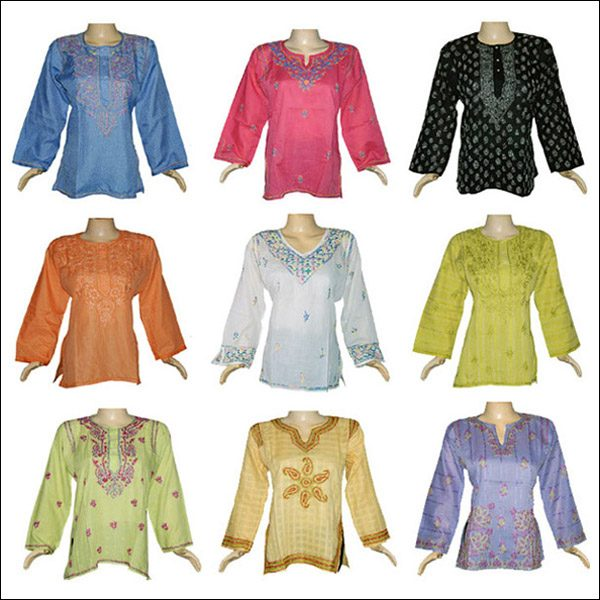 WOMENS CLOTHING TUNIC TOPS