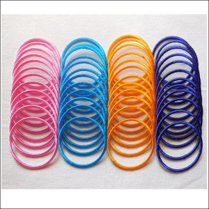 HANDMADE SILK THREAD BANGLES