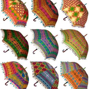 HANDMADE EMBROIDERED UMBRELLAS
