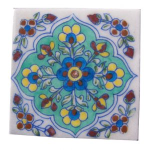 DESIGNER BLUE POTTERY TILES