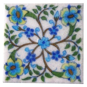 EXCLUSIVE BLUE POTTERY TILES