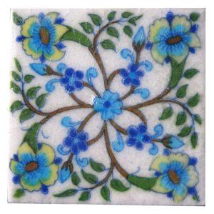 Vintage Handmade Jaipuri Tiles