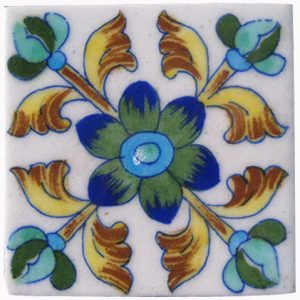 RAJASTHANI BLUE POTTERY TILES