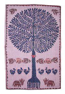 KANTHA TREE WALL HANGING