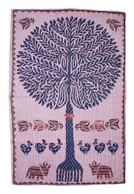KANTHA TREE WALL HANGING