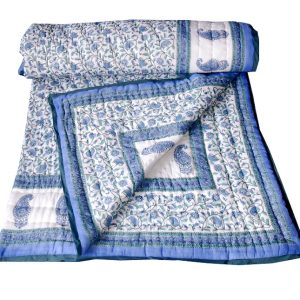 COTTON JAIPURI QUILT