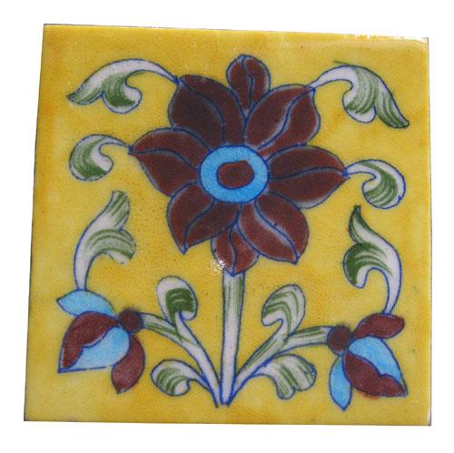 Blue Pottery Decorative Tiles