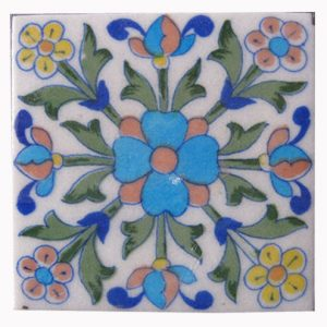 HANDMADE CERAMIC ART TILES Product Code: