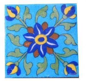 JAIPUR BLUE POTTERY TILES