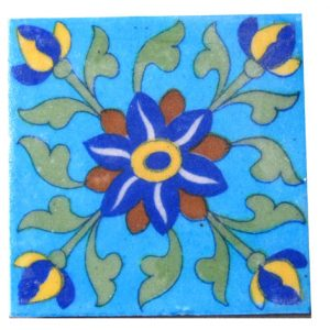 JAIPUR BLUE POTTERY TILES