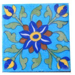 Handmade Jaipuri Pottery Tiles