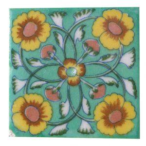 Jaipuronline Blue Pottery Tiles