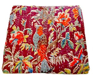 BIRD PARADISE THROW GUDRI
