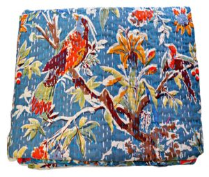 INDIAN BIRD KANTHA QUILTS