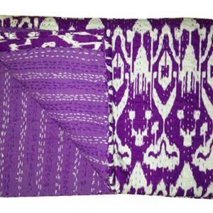 Handmade Print Kantha Quilts