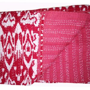 Exclusive Pink Kantha Quilts