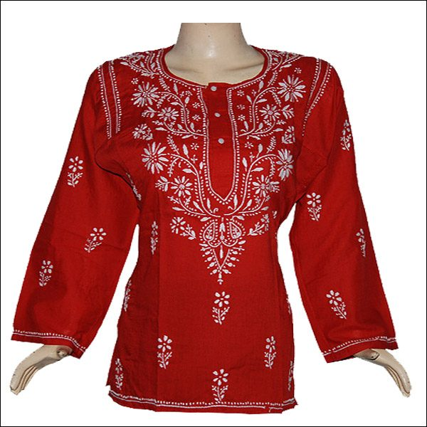 EXCLUSIVE RED TUNIC TOP