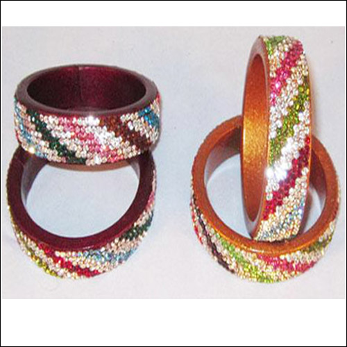 MULTICOLORED BANGLES PAIR