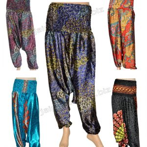 SILK HAREM PANTS TROUSER