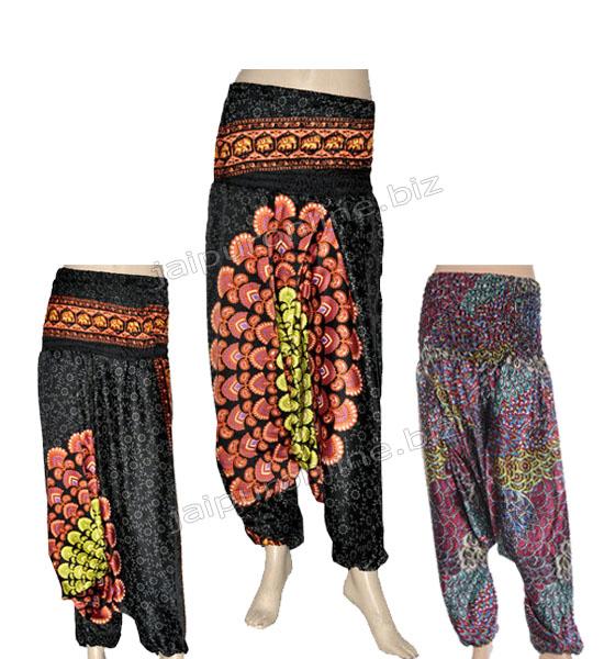 BEACHWEAR HAREM PANTS