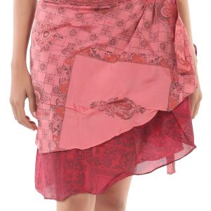 REVERSIBLE SHORT SKIRT