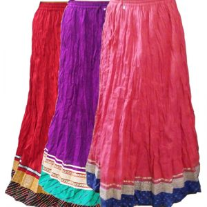 DESIGNER COTTON SKIRTS‎