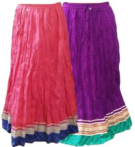 TRADITIONAL INDIAN SKIRTS