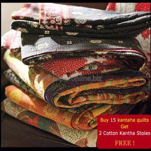 Sale Vintage Kantha Quilts