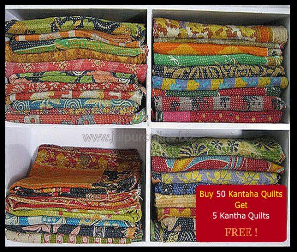 Best Vintage Kantha Quilts