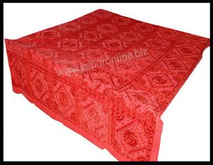 RED BEDSPREAD BEDDING