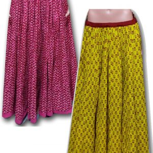 WOMEN GHAGRA SKIRTS