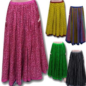 INDIAN LONG COTTON SKIRTS