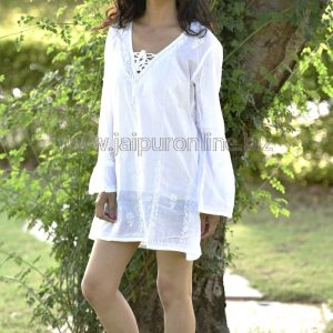 Women Beachwear Long Tunic