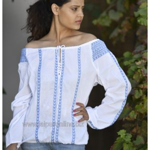 Off Shoulder Designer Tunic