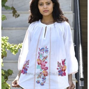 WHITE BEACH TUNIC TOP