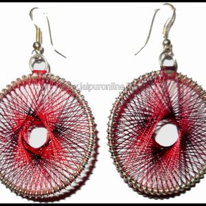 SILK THREAD EARINGS