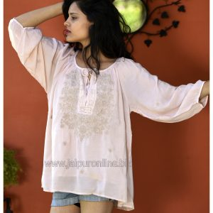 Embroidered Cover-Up Tunic