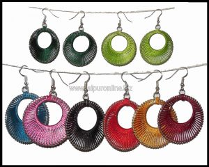 TRENDY SILK EARRINGS