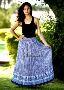 FASHIONABLE LONG SKIRT