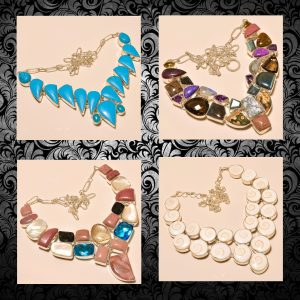 LATEST FASHION PARTY NECKLACES