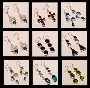 DROP STONE EARRINGS ONLINE