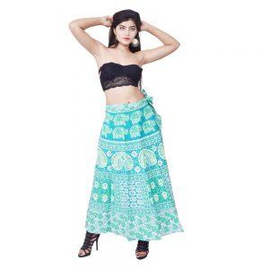 Cotton Latest Maxi Skirt